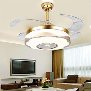 42-034-Remote-Control-Chandelier-Fan-w-Bluetooth-Ceiling-fan-Invisible-Fan-Design