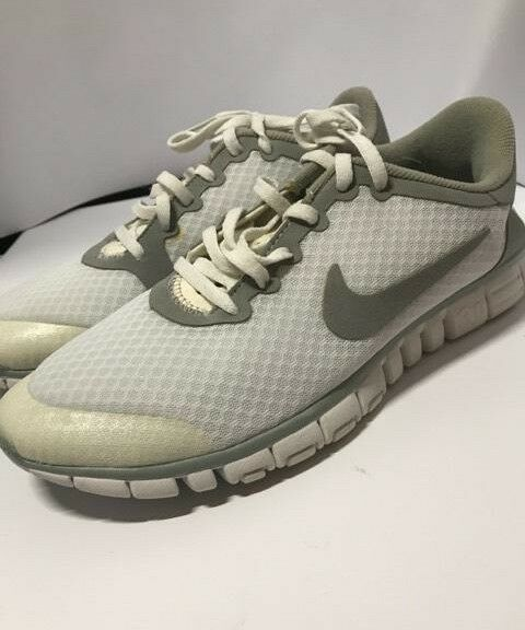New Nike Free 3.0 men's White Size Size 10 354749-101 running light minimalist