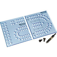 Xl Cribbage Board Templates, 1/4 In Hole on Sale