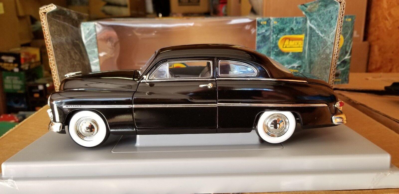 muchas sorpresas 1 1 1 18 Ertl American Muscle 1949 Mercury Coupe Negro  ventas en linea