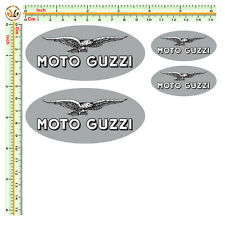 sticker moto guzzi adesivi auto moto casco helmet 4 pezzi print pvc