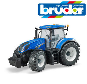 Bruder Toys 03120 New Holland T7 315 Tractor Working Steering