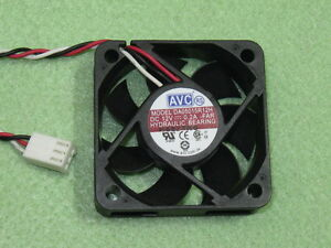 AVC-DA05015R12H-5015-50mm-x-15mm-Hydraulic-Cooler-Cooling-Fan-12V-0-2A-3Pin-B146
