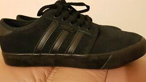 madera Estados Unidos Feudal  ADIDAS SKATEBOARDING trainers Adidas Seeley Shoes Core Black 7.5 UK size |  eBay