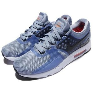 Details about Nike Air Max Zero Essential 0 Blue Navy Men Sz 9 Running Shoe Sneaker 876070 400
