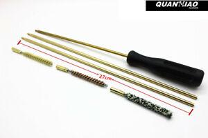 22cal-amp-30cal-Rifle-Cleaning-Kit-Copper-Rod-Brush-Set-Gun-Care-Plastic-Box-Pack