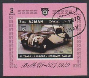Ajman-1970-voitures-vintage-BMW-327-1939-feuille-CTO