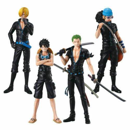 (P) BANDAI SUPER ONE PIECE STYLING FILM GOLD1 FIGURE SET OF 4