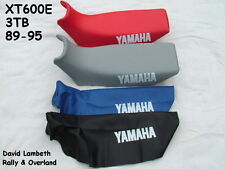 Yamaha XT600E 3TB Seatcover Coprisella Sitzbezug Housse de Selle Funda Asiento