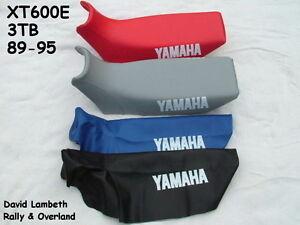 Yamaha-XT600E-3TB-Seat-Cover-Coprisella-Sitzbezug-Housse-De-Selle-Funda-Asiento