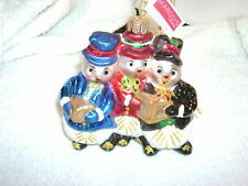 WATERFORD MARQUIS 2011 SNOWMAN FAMILY ORNAMENT~GORGEOUS~NOT AVAILABLE IN STORES