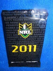 Collectable-New-NRL-OFFICIAL-2011-COLLECTOR-CARDS-PACK-6-15-RUGBY-LEAGUE-GR8s