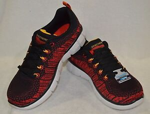 Skechers Kids Equalizer 2.0 Perfect Game Black Red