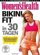 JULIA SCHUPPEL/MEIER,LEA - WOMEN'S HEALTH-BIKINI-FIT IN 30 TAGEN  DVD NEU