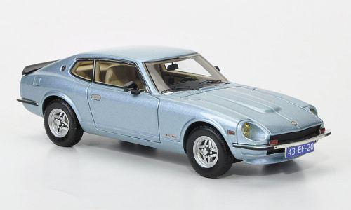 Datsun Datsun 260Z 2 Plus 2 1975 Light blu Met Neoscale 1 43 Neo43986