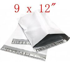 """800 pcs 9 x 12 """" Poly Mailers Shipping Envelopes Plastic sealing Bags, 2.35 Mil"""