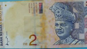 Malaysia-2-Ringgit-Banknote-of-Year-1995-84-A-FINE-amp-NICE-Note