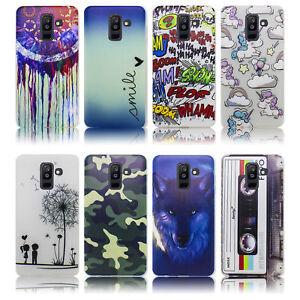 Samsung-Galaxy-A6-PLUS-2018-Huelle-Silikon-Smartphone-Handy-Huelle-Schutz-Huelle