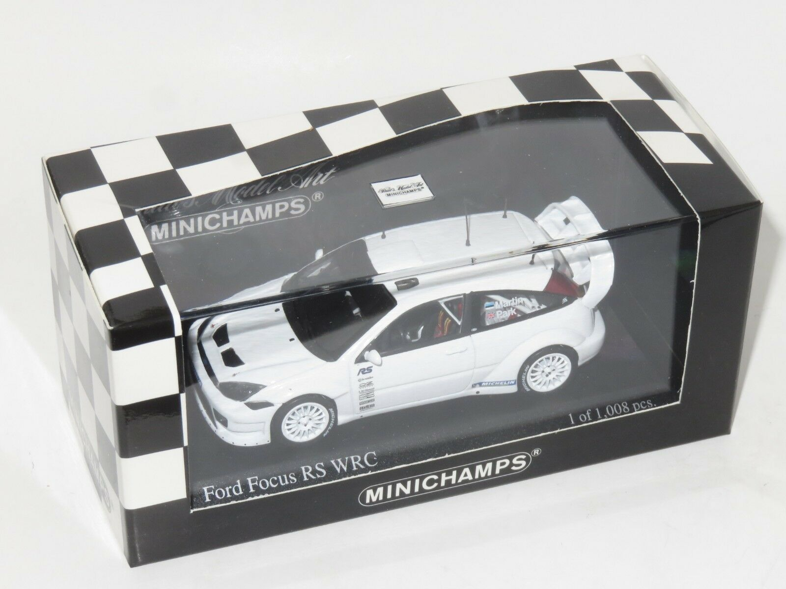 1/43 FORD FOCUS RS WRC Test Car 2003 M. MARTIN/M. Park