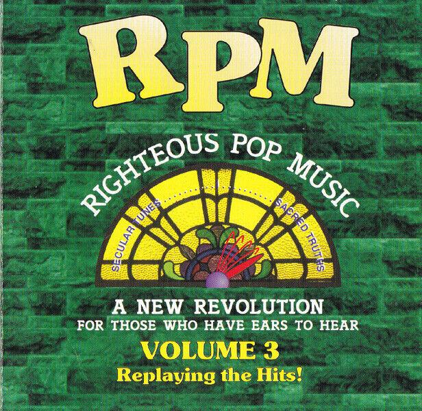 RPM Righteous Pop Music Volume Vol 3 Prerecorded CD W