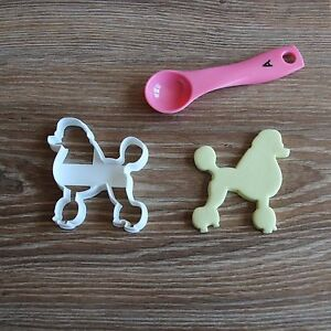 Poodle-Cookie-Cutter-Dog-Pup-Pet-Treat-puppy-Pupcake-topper-cake