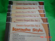 Karaoke Style: Country Gospel Hits, Vol. 1 by Karaoke (CD, Jul-2003, Daywind)