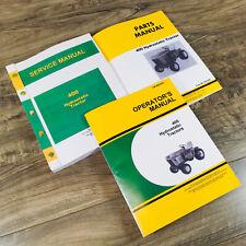 Service Parts Operators Manual Set For John Deere 400 Hydrostatic Tractor Book