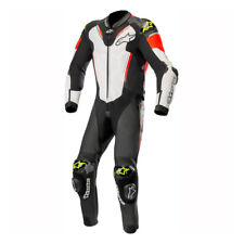 Alpinestars Atem V3 Suit-Black/WhtRed/Fluo/ 1236Leather Motorcycle Suit was£1100