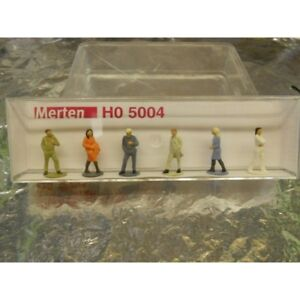 Merten-H0-5004-Figure-Pack-Passers-By-6-1-87-H0-Scale