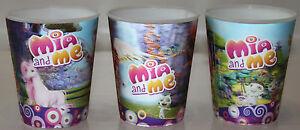 3x Mia and Me 3D-Becher// Trinkbecher//Kinder//3 versch Motive-Kinder//3 Stück*NEU*