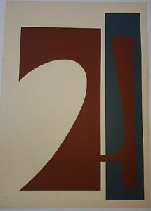 Serigraph by Salvador Corratge. No title. 1992. Original signed by the artist
