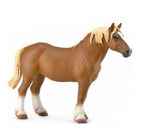 Sorrel Breyer Horses Corral Pals Chestnut Belgian Mare #88819 Draft Horse