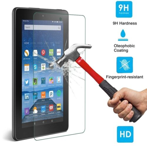 NEW Premium Tempered Glass Screen Protector For Amazon Kindle Fire HD 7 2015