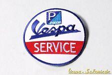 """VESPA Aufnäher """"Service"""" - V50 PK PX PV GT TS GL GS Sprint Rally Piaggio Patch"""