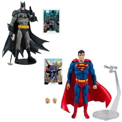 2 Action Figure Set Mcfarlane Toys *PREORDER* DC Batman Superman Wave 1 7-Inch