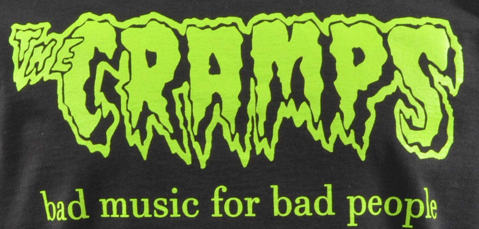 WOMENS LONG HOODIE DRESS THE CRAMPS BAD MUSIC PSYCHOBILLY PSYCHOBILLY PSYCHOBILLY HORROR LUX S-XL 41d330