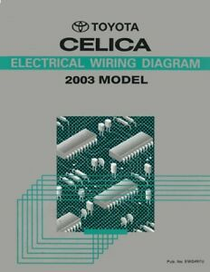 Surprising 2003 Toyota Celica Wiring Diagrams Schematics Layout Factory Oem Ebay Wiring Cloud Hisonuggs Outletorg