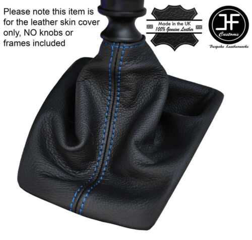 BLUE STITCHING SHIFT BOOT REAL LEATHER FOR JEEP PATRIOT 2007-2015