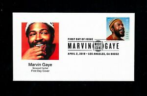 Norwood-Cachet-Marvin-Gaye-Stamp-First-Day-Cover-Only-10-Covers-Made-So-Far