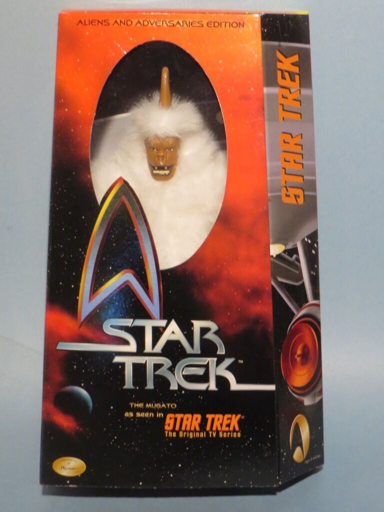 "STAR TREK THE MUGATO 12"" DELUXE ACTION FIGURE  NM  STAR TREK 50TH ANNIVERSARY"