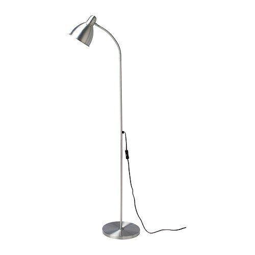 """Stehleuchte aus Aluminium Höhe IKEA Standleuchte /""""LERSTA/"""" Lesen 131cm"""