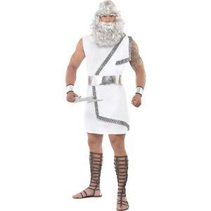 Mens zeus greek god myth legend fancy dress costume ancient film image is loading men 039 s zeus greek god myth legend solutioingenieria Images