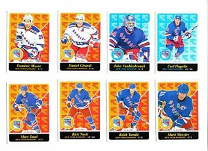 2015-16-O-Pee-Chee-Retro-New-York-Rangers-Hockey-Cards