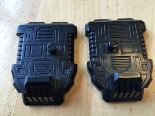 Transformers G1 Parts 1985 DEFENSOR feet foot pair set