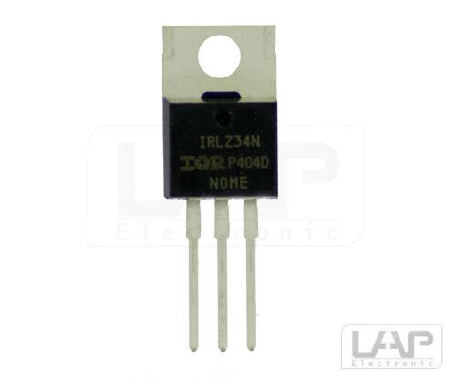 MOSFET 55V 30A 68W TO220 AB        1 5,10 Freie Wahl IRLZ34N Transistor N-LogL
