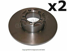 Mercedes w110 w111 FRONT LEFT and RIGHT Brake Disc Set of 2 ZIMMERMAN +WARRANTY