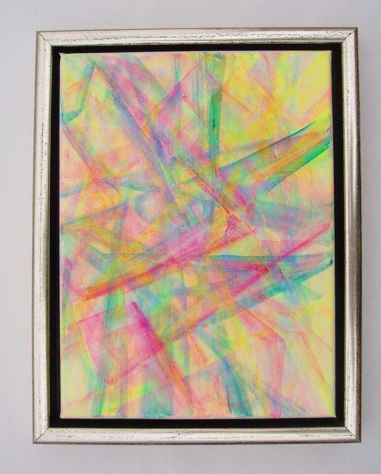 Akrylmaleri, Anette Raarup, motiv: Andet