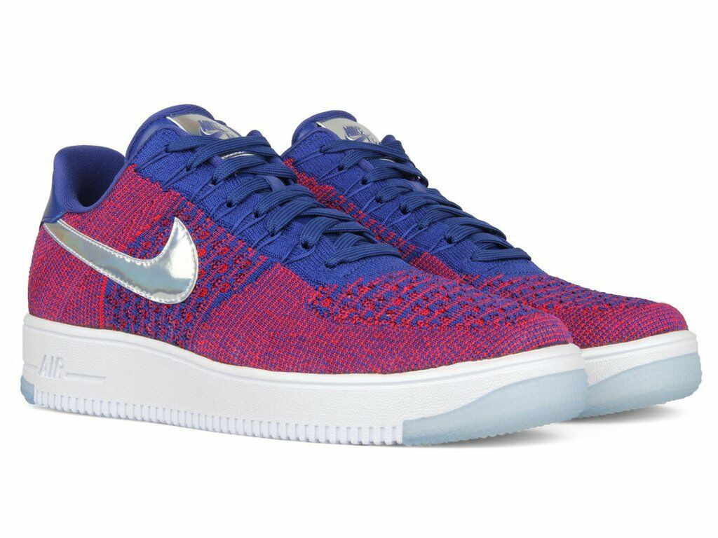 Nike Air Force 1 Low Ultra Flyknit Pick Size Olympic Red White bluee 826577-601
