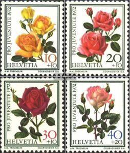 Schweiz-984-987-kompl-Ausgabe-gestempelt-1972-Pro-Juventute