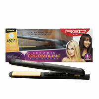 Red By Kiss Ceramic Tourmaline Hot Styler Flat Iron (multiple Variety)